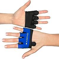 Preisvergleich für Crosstraining Handschuhe Designed in Italy, Made in EU - Premium Crossfit Sporthandschuhe – Kurzfingerhandschuh für Damen und Herren, Perfekt für Krafttraining, Fitnessstudio, Gym, Kettlebell