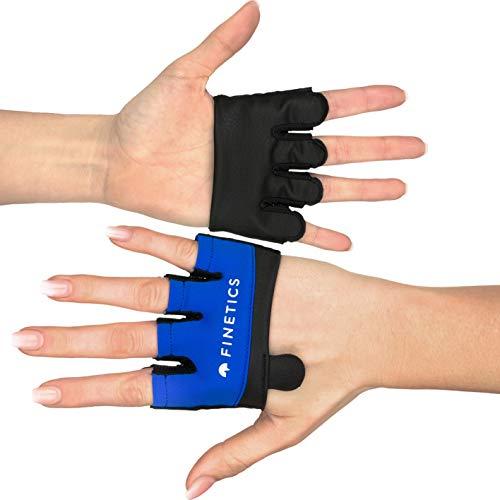 Crosstraining Handschuhe Designed in Italy, Made in EU in Premiumqualität Sporthandschuhe – Kurzfingerhandschuh für Damen und Herren, Perfekt für Krafttraining, Fitnessstudio, Gym, Kettlebell (M)