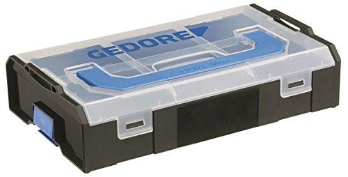 GEDORE L-BOXX Mini, 260 x 155 x 63 mm, Fächer individuell anpassbar, Für Schrauben, Muttern und weitere Kleinteile verwendbar