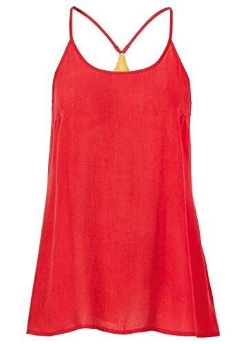 Damen Blusentop, 95738 in Rot siehe Beschreibung