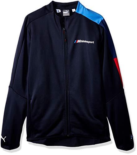 PUMA Herren BMW Motorsport T7 Track Jacket Sweatshirt, F Team Blue, Small