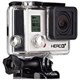 GoPro HERO3+ Black Edition Adventure Caméra embarquée étanche 12 Mpix Wi-Fi( langue: anglais / espagnol)