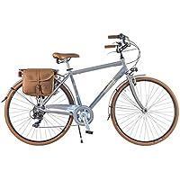 Via Veneto By Canellini Bicicleta Bici Citybike CTB Hombre Vintage Retro Dolce VIta Aluminio grey gris