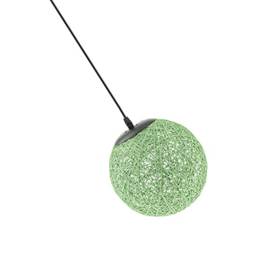 Sharplace Abat-Jour Suspension de Plafond 20cm - Vert