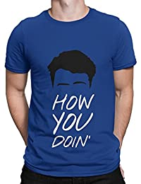 Silly Punter How You Doin! Men's TV Series Men's Cotton Tshirt