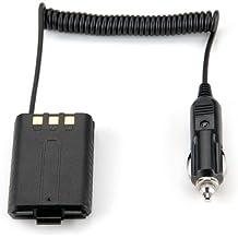 Eliminador Alimentación Coche Batería Negro para BAOFENG UV-5R Dual Band Radio