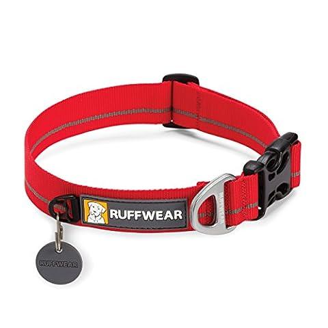 Ruffwear Hoopie Collar pour Animaux Rouge Groseille M