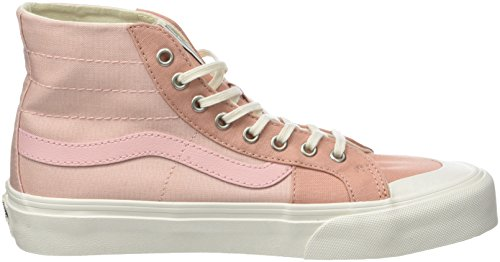 Vans Unisex-Erwachsene Sk8-Hi 138 Decon SF Hohe Sneaker Pink (Evening Sand/muted Clay R36)