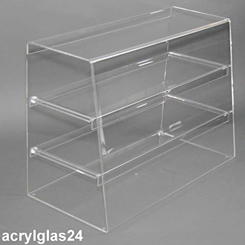 Acrylglas24 Thekenaufsatz aus original PLEXIGLAS® XT 65cm