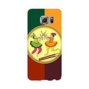 Skintice Designer Back Cover with direct 3D sublimation printing for Samsung Galaxy S6