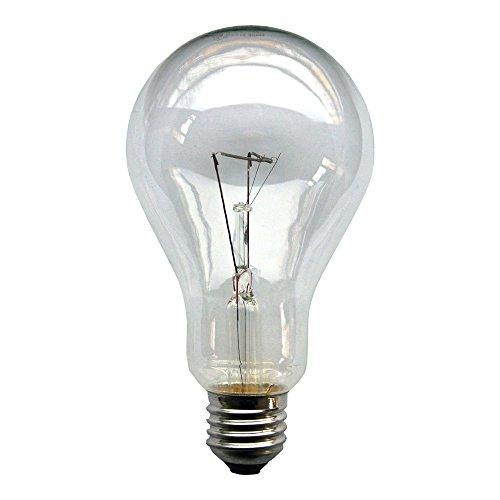 1 x Glühbirne 300W E27 klar Glühlampe 300 Watt Glühbirnen Glühlampen (300 W Glühbirne)