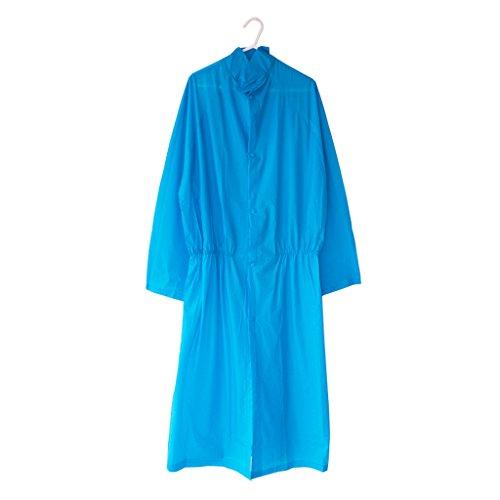 Frauen koreanische Version der kreativen Regenmäntel Outdoor Travel Portable Regenmäntel ( farbe : Pink ) Blau
