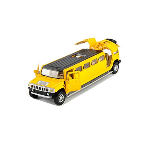Yingjianjun Modelo de aleación Hummer versión Larga, Modelo de Coche de Juguete Hummer, Modelo de automóvil de simulación, niños, Juguetes, Festival, (Color : 2)