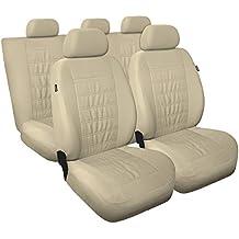 MD-8 Universal Fundas de asientos compatible con SEAT AROSA I II (cuero ecológico)
