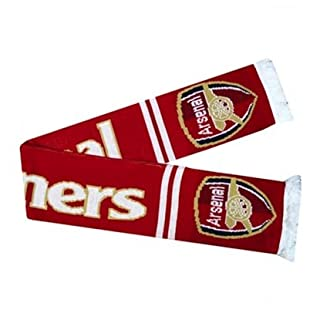 Arsenal Unisex's Gunners Crest Scarf-Multi-Colour, One Size