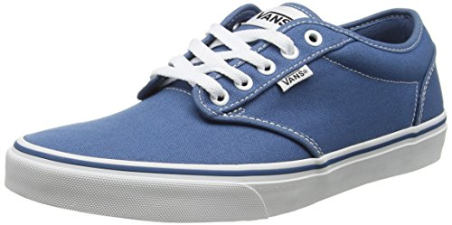 Vans Atwood, Scarpe da Ginnastica Basse Uomo, Blu (Contrast Stitch Blue/White), 44.5 EU