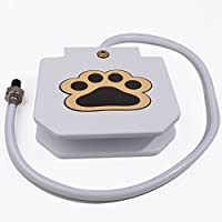 ANPO Outdoor Pet Drinking Fountain, Doggie Self-Service Paw Activited Water Toy
