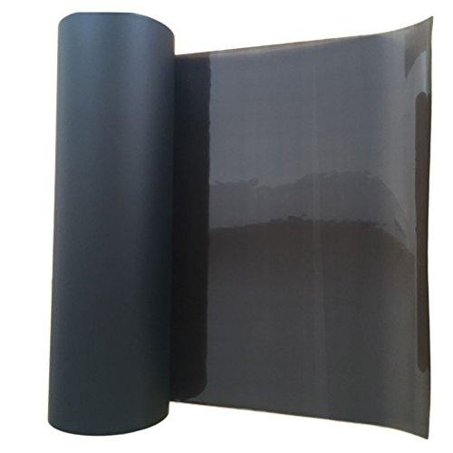 Vorcool Selbstklebende Vinylfolie für Autoscheinwerfer, Schwarz matt 30 x 120 cm