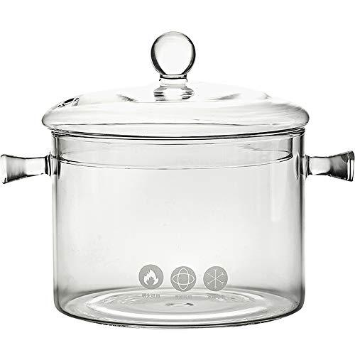 PAN - binauraler Glastopf für Hochtemperatur - Suppentopf