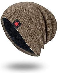 H-Y-HOME Sombrero De Invierno para Hombre Gorro De Lana Tibia Engrosada  Invierno Protector De 62bd68a3a29