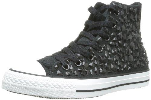 CONVERSE Chuck Taylor Rhineston Hi 308420-55-8  Damen Sneaker Schwarz (Noir)