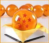 1:1 DBZ DragonBall Z Crystal Ball Durchmesser ca.7cm Dazzling 6-Star-Kristallkugel