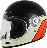 Origine Vega Classic Helm Schwarz/Weiß/Orange L (59/60)