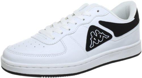 Kappa 241685, Baskets mode homme Multicolore (1011 White/Black 1011 White/Black)