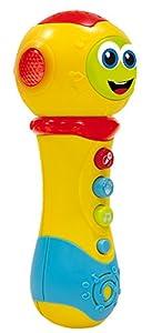 Lisciani Giochi-Carotina Baby Travieso Micrófono 3-en-1