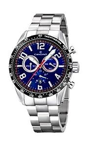 Reloj Candino C4429/B de cuarzo para hombre con correa de acero inoxidable, color plateado de Candino