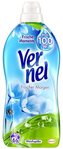 Vernel Frischer Morgen, Weichspüler, 6er Pack (6 x 66 Waschladungen)