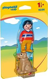 PLAYMOBIL 1.2.3- Man with Dog Hombre con Perro, Multicolor, única (9256)