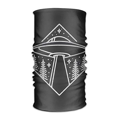 Ufo Headwear For Men And Women-Yoga Sports Travel Workout Wide Headbands,Neck Gaiter,Bandana,Helmet Liner,Balaclava,Hair Turban,Scarf