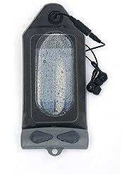 Aquapac 518 Funda estanca para iPod/MP3 con pasa cables Gris/Transparente