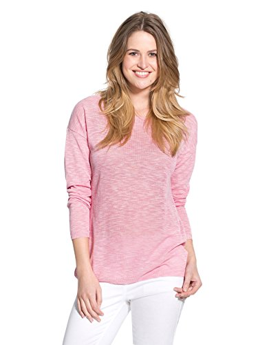 balsamik-pull-pastel-fine-maille-moulinee-femme-taille-42-44-couleur-rose-chine