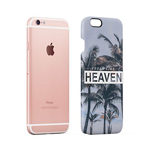 Funny Zitat I Need Vitamin SEA Tropical Paradise Chill Dünne Rückschale aus Hartplastik für iPhone 5 & iPhone 5s & iPhone SE Handy Hülle Schutzhülle Slim Fit Case cover Feels Like Heaven