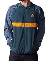 Mens adidas Originals Adv Wind Jacket In Blue