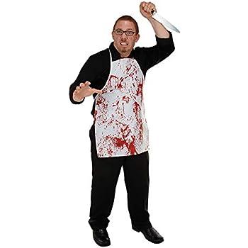 Blutige Schürze Blut Befleckt Halloween Zombie Fasching Karneval