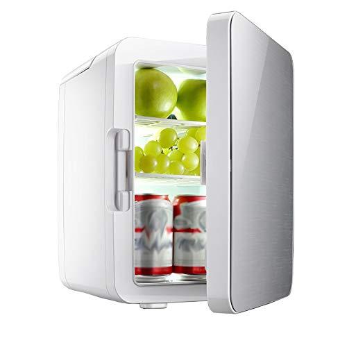 Lyy - 8866 10L / 12V Mini Kleiner Kühlschrank Mikrokühlschrank/Autoheizung und Kühlbox Halbleiter/Test für Dual-Use-Auto (Farbe : Gray)