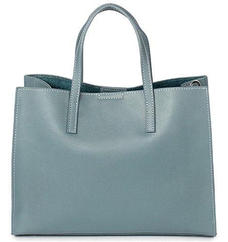 Xinmaoyuan Borse donna borsette in cuoio borsetta Leisure Tote grande capacità Ladies borse a tracolla blue