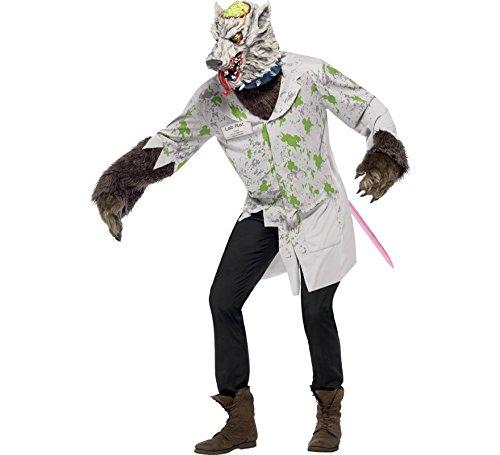 Imagen de disfraz de rata de laboratorio para hombre