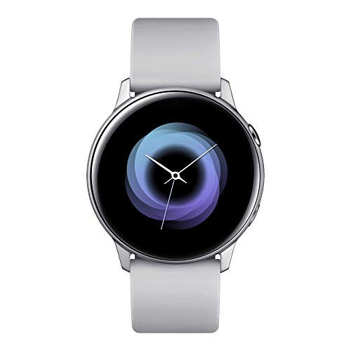 Samsung Galaxy Watch Active Smartwatch, Argento (Silver), Bluetooth [Versione Italiana]