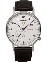 Junkers Herren-Armbanduhr Analog Quarz Leder 67301