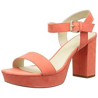 Another Pair of Shoes SelenaaK2, Damen Knöchelriemchen Sandalen, Pink (coral35), 37 EU