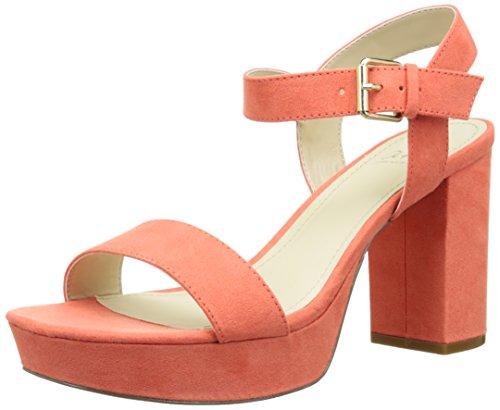 Another Pair of Shoes SelenaaK2, Damen Knöchelriemchen Sandalen, Pink (coral35), 39 EU