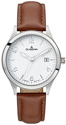 Dugena Men's Analogue Quartz Watch with Leather Strap 4460777