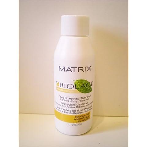 Matrix Biolage Smooth terapia Smoothing Shampoo 50ml Dimensione da viaggio