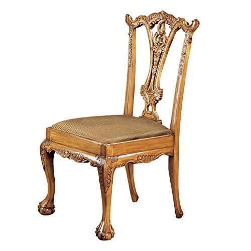 Design Toscano Englischer Chippendale-Stuhl