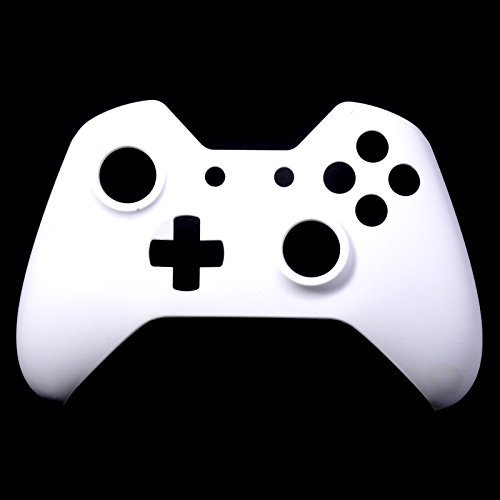 Extremerate Matte Solid White Front Top Up Shell Case For Xbox One Controller 41XpmK21txL