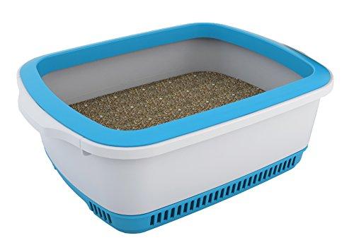 Canada Litter 0897438000531 - Arenero noba Anti-Olor y Auto-secante, Color Azul